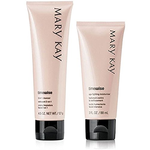 Mary Kay Timewise Age-fighting Moisturizer & 3 in 1 Cleanser Normal to Dry Skin