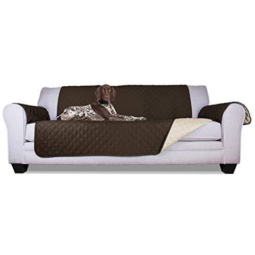 Furhaven – Funda para muebles de mascota, reversible, resistente al agua, dos tonos, acolchada, para sala…
