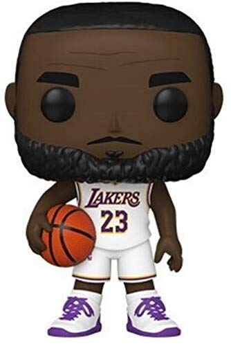 Funko POP NBA: LA Lakers - Lebron James (Alternate) S5 Figura da Collezione, Multicolore, 51010