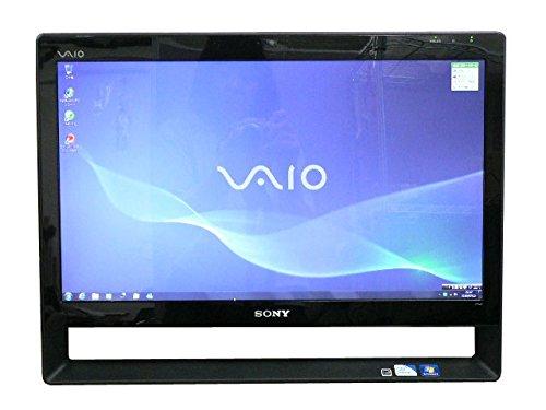 SONY デスクトップパソコン 中古パソコン VPCJ118FJ ブラック デスクトップ 一体型 本体 Windows7 Core i5 ブルーレイ 地デジ/BS/CS 4GB/1TB