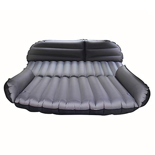 Car Air Matelas Gonflable Bed Camping Voyage en Plein air Gratuit Pliant SUV Universal Airbed Sleeping Airbed, 190X118X10CM (Couleur : Gris)