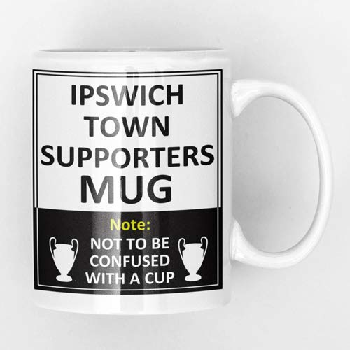 Ipswich Town Football Club Supporters Rival Team Joke Funny New and Easy Office Tea and Coffee Mug Gift