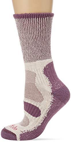Bridgedale Damen Hike Lightweight Merino Comfort Socken, Pflaume, m
