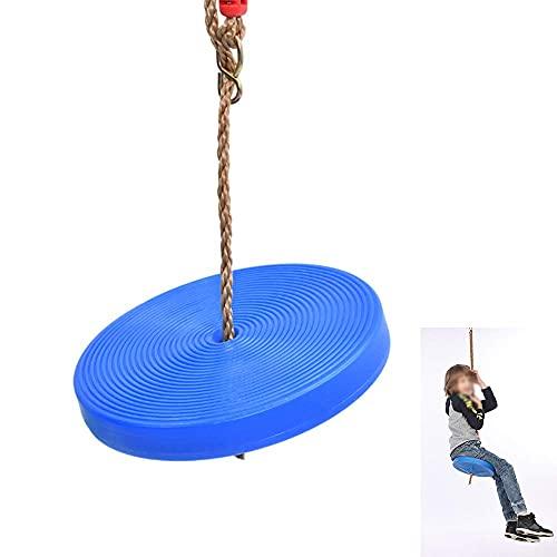 FYRMMD Asiento de Columpio de árbol Asiento de Columpio Columpio elástico para niños, Resistente a la Intemperie, Flexible para una Comodidad de balanceo para Silla Colgante de hasta 100 kg