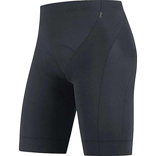 GORE WEAR Homme Cuissard de Cyclisme avec Insert Peau de Chamois, Respirant, GORE Selected Fabrics, Tights short+, Taille XL, Noir, TELEMT990006