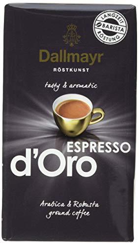 Dallmayr Kaffee Espresso d'Oro 250g gemahlen, Gemahlene Bohnen (1 x 250 g)