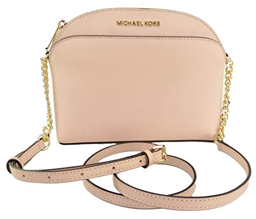 Michael Kors Emmy Medium Crossbody in Saffiano Leather (Blosssom 2019)