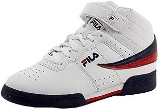 Fila Kids F-13 Shoes White/Navy/Red 12.5
