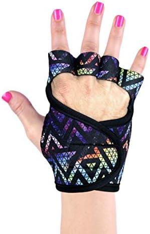 G Loves Womens Silicone Gel Padded Neoprene Gloves for Wrist Support Gelometrics Studio Gloves product image