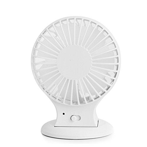 Zuoao USB Ventola Ventilatore Silenzioso Ventilatore de Tavolo per la Casa e L'ufficio