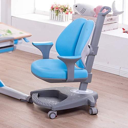 Xiaodong1 Silla ergonómica, correctiva Sentado aprendizaje for niños Silla de escritorio puede subir y bajar, escritorio del hogar del ordenador Silla Anti-joroba Miopía, lanzamiento Pierna de presión