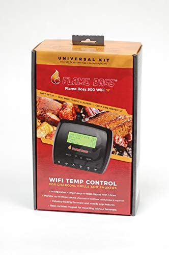 Flame Boss 500-WiFi Smoker Controller (Steel Smoker Kit)