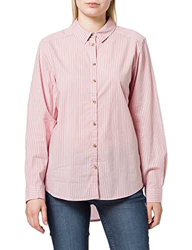 Springfield Camisa Rayas Rosas, Fucsia, 40 para Mujer