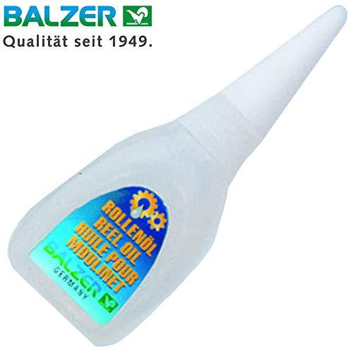 Balzer Rollenöl 20ml - Öl für Angelrollen, Maschinenöl für Stationärrollen, Baitcaster Rollen & Multirollen, Rollenpflege