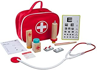 Little Doctor Play Set(11 Quality Pcs) | Pretend Play Medical Doctor Kit for Toddlers, Boys & Girls 3 Years Old &Up | Interactive Playset That Promotes Thinking Skills & Educational Learning