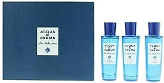 Acqua Di Parma Blu Mediterraneo Eau de Toilette 3 X 30ml(Mirto Di Panarea+Arancia Di Capri+Fico Di Amalfi) Set