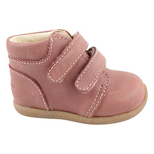 EN FANT Baby Mädchen Beginner Shoe Velcro Lauflernschuhe, Pink (Rose), 24 EU
