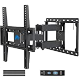 Mounting Dream UL Listed TV Mount TV Wall Mount with Swivel and Tilt for Most 32-55 Inch TV, Full Motion TV Mount with Articulating Dual Arms, Max VESA 400x400mm, 99 lbs. Loading, 16 inch Studs MD2380