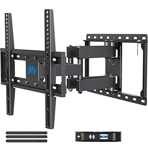 Mounting Dream UL Listed TV Mount TV Wall Mount with Swivel and Tilt for Most 32-55 Inch TV, Full Motion TV Mount with Articulating Dual Arms, Max VESA 400x400mm, 99 lbs. Loading, 16 inch Studs MD2380. Buy it now for 39.99
