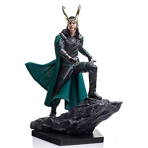 HOOPOO Comics Avengers Loki Ragnarokr Figura de acción de 25 cm Acción Edición calcula el Juguete Animado Figura Juguetes for el Regalo de los niños (Color : No Retail Box)