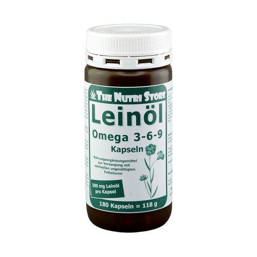 LEINÖL 500 mg Kapseln 180 St Kapseln