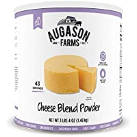 Augason Farms Certified Gluten Free Long Term Cheese Blend Powder