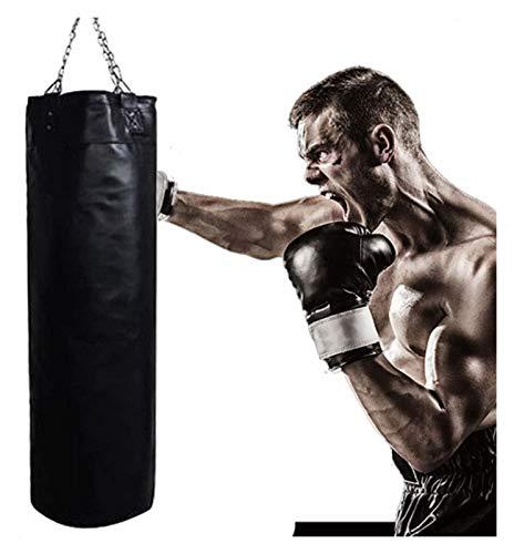 PQQ Boxsack 120cm Heavy Bunching-Taschen, Hängender Haushalt Heavy Bag Kampfkunst Taekwondo Training Fitness Posting Taschen Kinder Stanztasche (Color : 100cm)