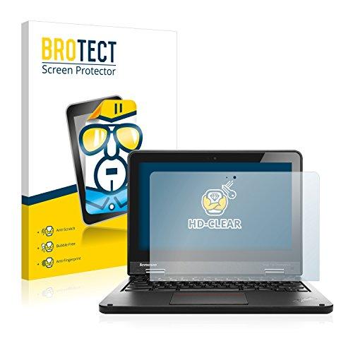 BROTECT Schutzfolie kompatibel mit Lenovo Yoga 11e Chromebook (2 Stück) klare Bildschirmschutz-Folie