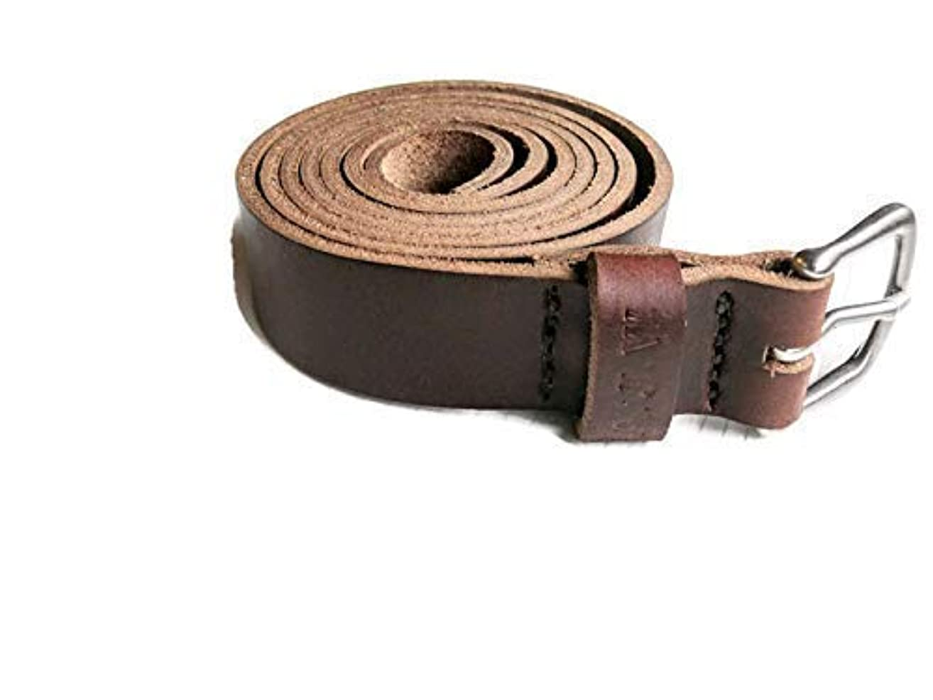 Handcrafted Horween Belt, Best Gift for Him, Leather Men's Belt, Genuine Full Grain Leather | Personalized Belt | Handstamped Gift