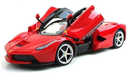 Brigamo RC Ferrari LaFerrari Modellauto Flügeltürer, 1:14, Ferngesteuertes Auto, RC Auto mit Fernsteuerung