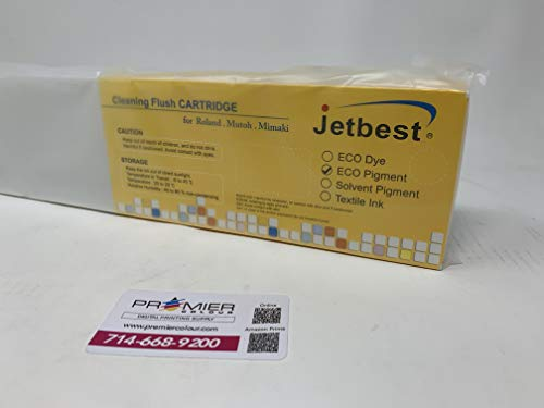 JETBEST ECO Solvent Ink Cartridge, 440ML for Roland ECO SOL MAX (Cleaning)