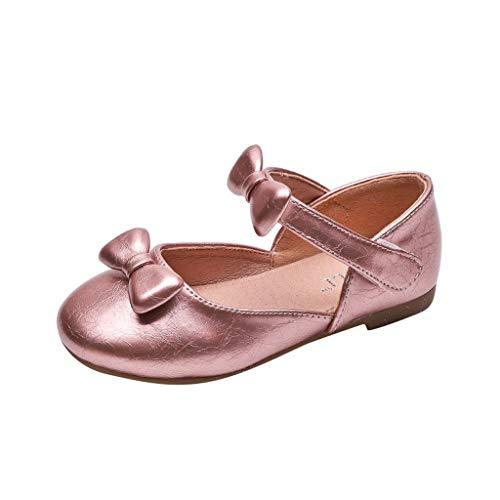 TUDUZ Kinder Schuhe Jungen Mädchen Closed Toe Sommer Strand Sandalen Schuhe Turnschuhe Schnürhalbschuhe Turnschuhe Wander(Rosa,24EU)