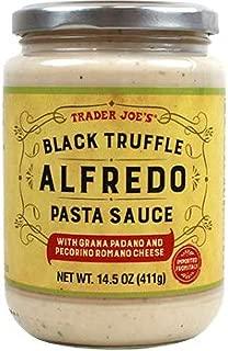 trader joe's black truffle alfredo
