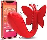 Usable Bragas Vib-rạdórés con App Bluetooth Remoto Ŝilicoņà Vībrādôręș, Mini...
