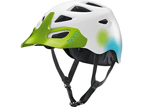 Bern Prescott MTB - Casco para Bicicleta de montaña, Color Blanco
