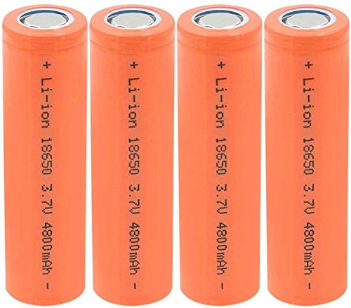 18650 3.7V 4800mAh Célula Recargable de la batería de Iones de Litio para la antorcha Linterna LED