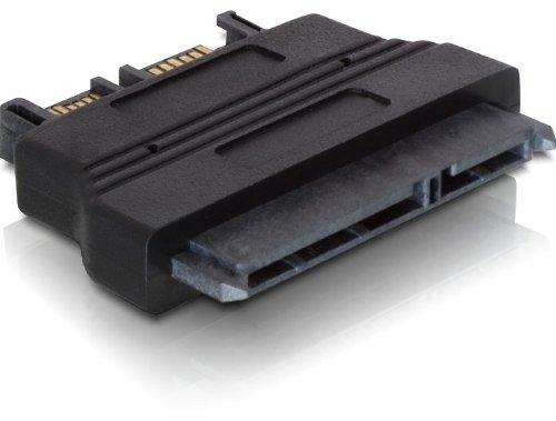 Delock Adapter Slim SATA 13 pin > SATA 22 Pin