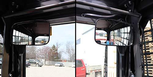 Kubota Track Loader Mirror Kit - fits SLV75 and SLV90 Models, Part # DMKB9993