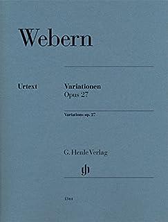VARIATIONS OP.27 --- PIANO