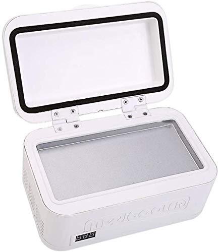 Beweglicher Auto-Kühlschrank, Kühlbox Mini Insulin Kühlschrank Box, Wiederaufladbare LCD-Display, für die Reise Camping Drug Lagerung
