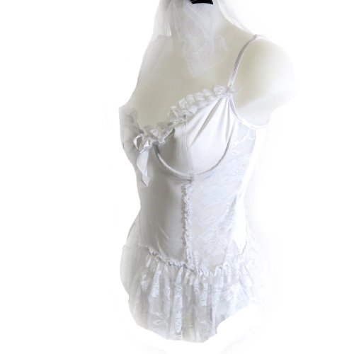 Les Trésors De Lily [K8454] - Déguisement 'La Mariée' blanc