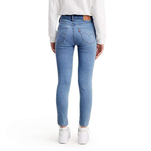 Levi's Women's 721 High Rise Skinny Ankle Jeans, Sapphire Breeze, 31 (US 12)