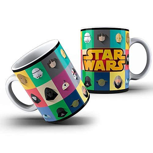 Caneca Star Wars Personagens