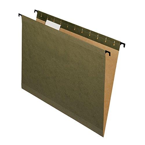 Pendaflex SureHook Reinforced Hanging Folders, Letter Size, Standard Green, 20 per Box (6152 1/5)