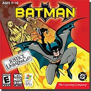 New Learning Company Batman Justice Unbalanced Popular High Quality Practical