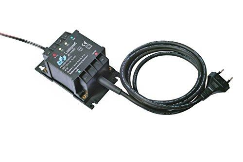 fritec Ladeprofi Kompakt für 12 V Kfz- und Motorrad-Batterien, mikroprozessorgesteuertes Lade- und Ladeerhaltungsgerät made in Germany
