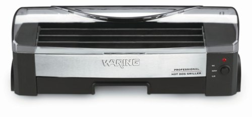 Best Bargain Waring Pro HDG100 200-Watt Hot-Dog Griller