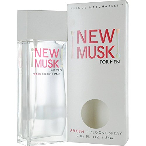 New Musk For Men By Prince Matchabelli For Men. Cologne Spray 2.85 Oz.
