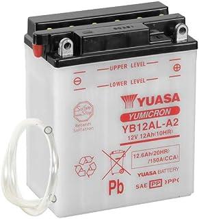 Batterie YUASA YB12AL A2 (DC) offen ohne Säure, 12V|12Ah|CCA:150A (134x80x160mm) für Aprilia Leonardo 125 Baujahr 1996
