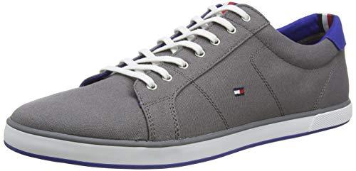 Tommy Hilfiger H2285ARLOW 1D, Zapatillas para Hombre, Gris (Steel Grey), 44 EU